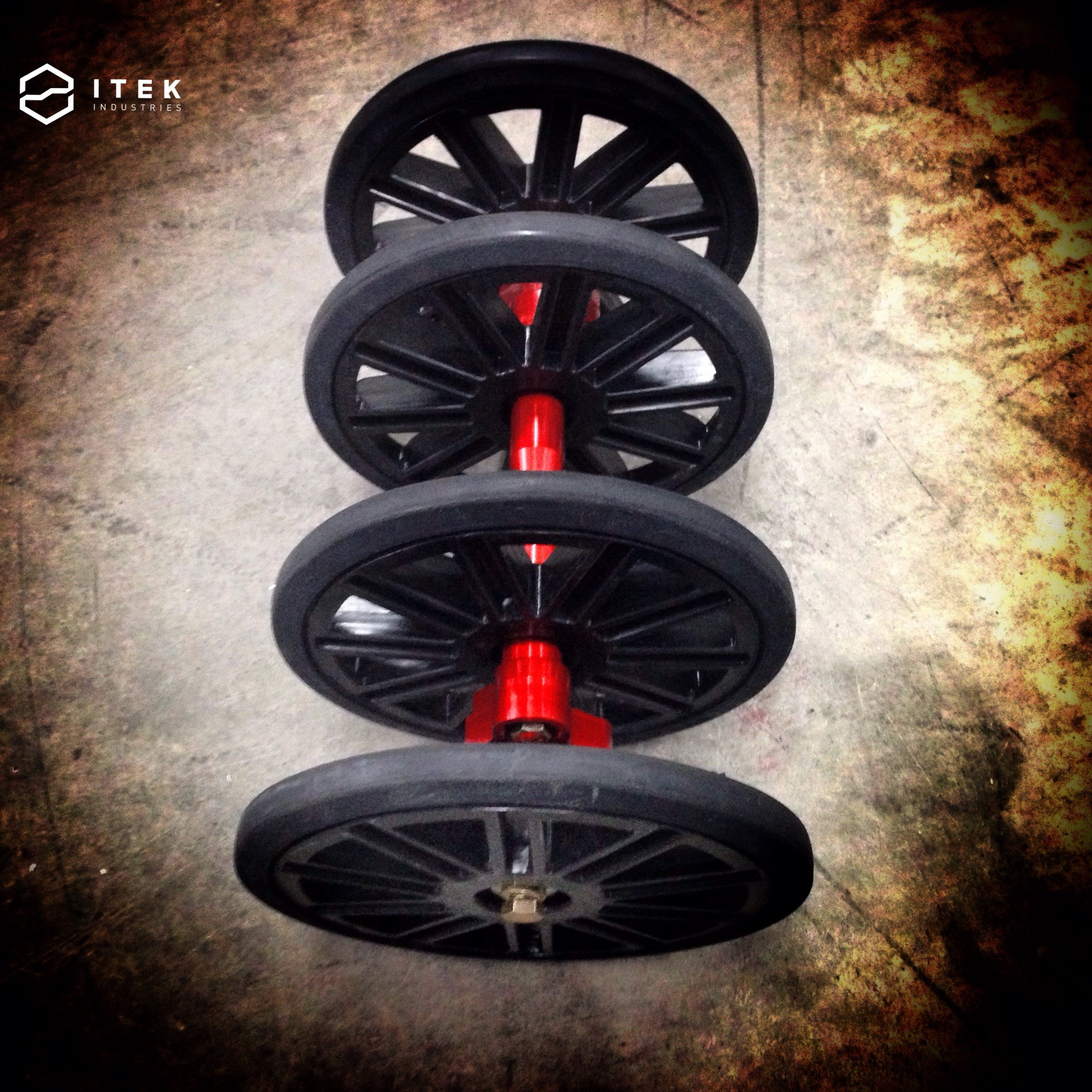 big wheels kit plastic with rubber wheels performance parts for s. Black Bedroom Furniture Sets. Home Design Ideas