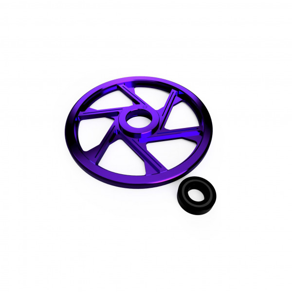Rear Wheels (Individually Sold) - Anodized series